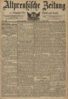 Altpreussische Zeitung, Nr. 126 Freitag 31 Mai 1895, 47. Jahrgang
