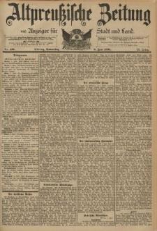 Altpreussische Zeitung, Nr. 130 Donnerstag 6 Juni 1895, 47. Jahrgang
