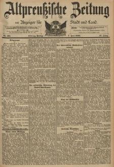 Altpreussische Zeitung, Nr. 131 Freitag 7 Juni 1895, 47. Jahrgang