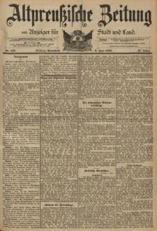Altpreussische Zeitung, Nr. 132 Sonnabend 8 Juni 1895, 47. Jahrgang