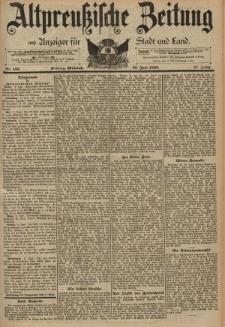 Altpreussische Zeitung, Nr. 135 Mittwoch 12 Juni 1895, 47. Jahrgang