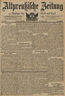 Altpreussische Zeitung, Nr. 140 Dienstag 18 Juni 1895, 47. Jahrgang