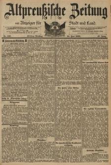 Altpreussische Zeitung, Nr. 146 Dienstag 25 Juni 1895, 47. Jahrgang