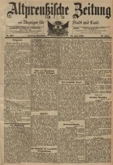 Altpreussische Zeitung, Nr. 150 Sonnabend 29 Juni 1895, 47. Jahrgang