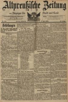 Altpreussische Zeitung, Nr. 153 Mittwoch 3 Juli 1895, 47. Jahrgang