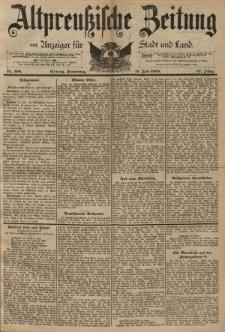 Altpreussische Zeitung, Nr. 160 Donnerstag 11 Juli 1895, 47. Jahrgang