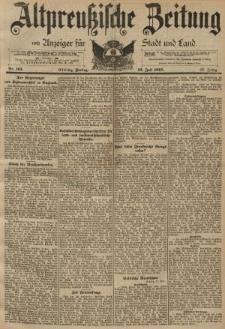 Altpreussische Zeitung, Nr. 161 Freitag 12 Juli 1895, 47. Jahrgang