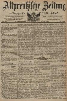 Altpreussische Zeitung, Nr. 162 Sonnabend 13 Juli 1895, 47. Jahrgang