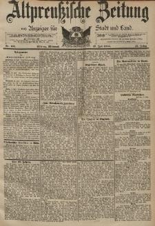 Altpreussische Zeitung, Nr. 165 Mittwoch 17 Juli 1895, 47. Jahrgang