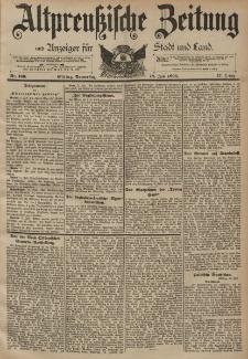 Altpreussische Zeitung, Nr. 166 Donnerstag 18 Juli 1895, 47. Jahrgang