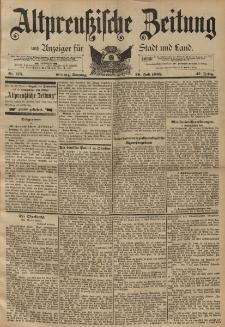 Altpreussische Zeitung, Nr. 175 Sonntag 28 Juli 1895, 47. Jahrgang