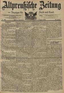Altpreussische Zeitung, Nr. 180 Sonnabend 3 August 1895, 47. Jahrgang