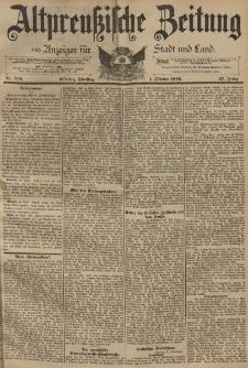 Altpreussische Zeitung, Nr. 230 Dienstag 1 Oktober 1895, 47. Jahrgang