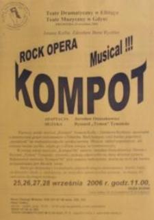 Kompot : rock opera - musical ! - Jonasz Kofta, Bene Rychter