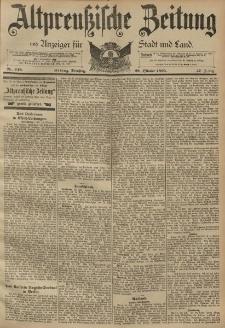 Altpreussische Zeitung, Nr. 248 Dienstag 22 Oktober 1895, 47. Jahrgang