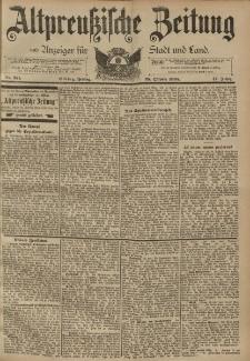 Altpreussische Zeitung, Nr. 251 Freitag 25 Oktober 1895, 47. Jahrgang