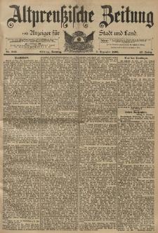 Altpreussische Zeitung, Nr. 282 Sonntag 1 Dezember 1895, 47. Jahrgang