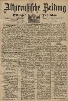 Altpreussische Zeitung, Nr. 300 Sonntag 22 Dezember 1895, 47. Jahrgang