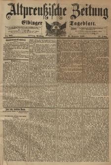 Altpreussische Zeitung, Nr. 305 Dienstag 31 Dezember 1895, 47. Jahrgang