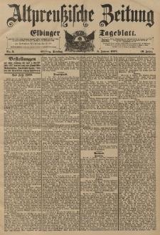 Altpreussische Zeitung, Nr. 3 Dienstag 5 Januar 1897, 49. Jahrgang
