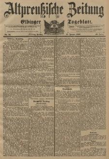 Altpreussische Zeitung, Nr. 12 Freitag 15 Januar 1897, 49. Jahrgang