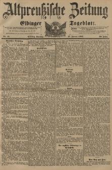 Altpreussische Zeitung, Nr. 14 Sonntag 17 Januar 1897, 49. Jahrgang