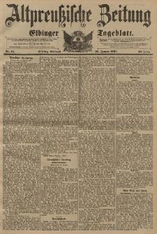 Altpreussische Zeitung, Nr. 16 Mittwoch 20 Januar 1897, 49. Jahrgang