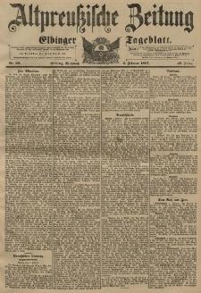 Altpreussische Zeitung, Nr. 28 Mittwoch 3 Februar 1897, 49. Jahrgang
