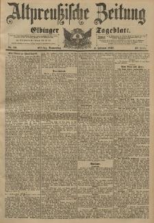 Altpreussische Zeitung, Nr. 29 Donnerstag 4 Februar 1897, 49. Jahrgang