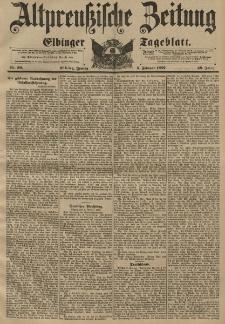 Altpreussische Zeitung, Nr. 30 Freitag 5 Februar 1897, 49. Jahrgang