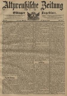 Altpreussische Zeitung, Nr. 34 Mittwoch 10 Februar 1897, 49. Jahrgang