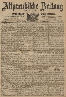 Altpreussische Zeitung, Nr. 36 Freitag 12 Februar 1897, 49. Jahrgang