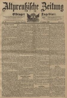 Altpreussische Zeitung, Nr. 37 Sonnabend 13 Februar 1897, 49. Jahrgang