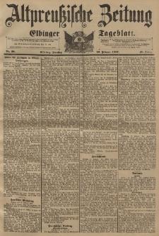 Altpreussische Zeitung, Nr. 39 Dienstag 16 Februar 1897, 49. Jahrgang