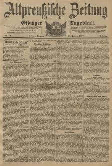 Altpreussische Zeitung, Nr. 44 Sonntag 21 Februar 1897, 49. Jahrgang