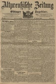 Altpreussische Zeitung, Nr. 45 Dienstag 23 Februar 1897, 49. Jahrgang