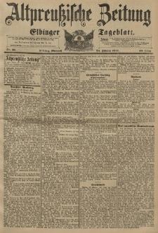 Altpreussische Zeitung, Nr. 46 Mittwoch 24 Februar 1897, 49. Jahrgang