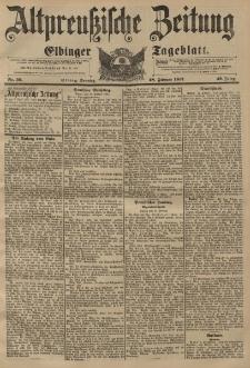 Altpreussische Zeitung, Nr. 50 Sonntag 28 Februar 1897, 49. Jahrgang