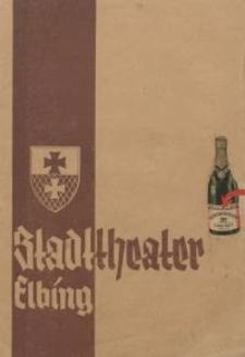 Rätsel um Beate - Programm-blätter des Stadttheaters Elbing - Möller Alfred und Lorenz Hans