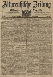 Altpreussische Zeitung, Nr. 53 Donnerstag 4 März 1897, 49. Jahrgang