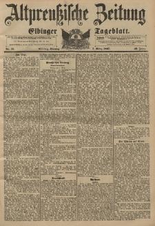 Altpreussische Zeitung, Nr. 56 Sonntag 7 März 1897, 49. Jahrgang