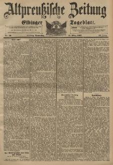 Altpreussische Zeitung, Nr. 59 Donnerstag 11 März 1897, 49. Jahrgang