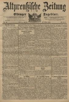 Altpreussische Zeitung, Nr. 60 Freitag 12 März 1897, 49. Jahrgang