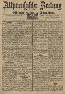 Altpreussische Zeitung, Nr. 61 Sonnabend 13 März 1897, 49. Jahrgang
