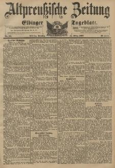 Altpreussische Zeitung, Nr. 62 Sonntag 14 März 1897, 49. Jahrgang