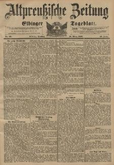 Altpreussische Zeitung, Nr. 63 Dienstag 16 März 1897, 49. Jahrgang