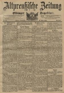 Altpreussische Zeitung, Nr. 65 Donnerstag 18 März 1897, 49. Jahrgang