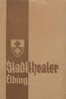 Tatjana - Programm-blätter des Stadttheaters Elbing - Oscar Felix, Walter Sawitzky