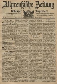 Altpreussische Zeitung, Nr. 66 Freitag 19 März 1897, 49. Jahrgang