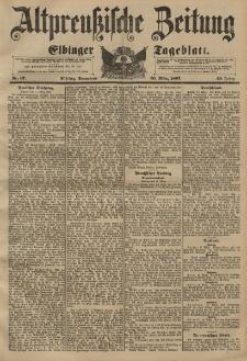 Altpreussische Zeitung, Nr. 67 Sonnabend 20 März 1897, 49. Jahrgang